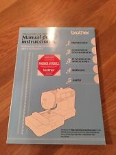 Brother Spanish Instruction Manual For Computerized Embroidery Sewing Machine