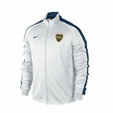 NIKE BOCA JUNIORS N98 AUTHENTIC TRACK JACKET White/Navy.