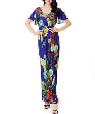 Women Long Maxi Summer Beach Boho Evening Sundress XL 2X 3X 4X 5X 6X PLUS SIZE