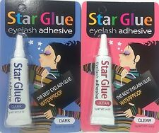 STAR GLUE False Eyelashes Adhesives 7g, Waterproof, Combo, Ships Fast!