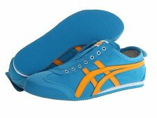 ASICS Onitsuka Tiger Mexico 66 Slip On Blue Women Men Casual Comfortable Shoes