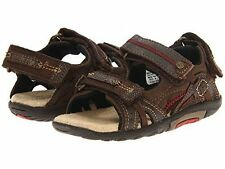 NIB Stride Rite Sandals Scooter Brown 4.5 M 5 W