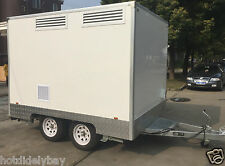 3.5M Food Van Trailer with electric braking system