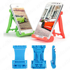 Portable Foldable Adjustable Desktop Stand Holder for iPhone Samsung mobilephone