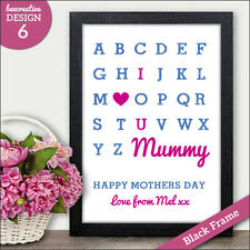 Gift for Mum Mam Mother - Mothers Day Mums Birthday Gift Keepsake Gifts Cards