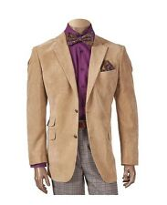 New Men's Inserch Casual Blazer Sports Jacket Khaki Big & Tall Available 521