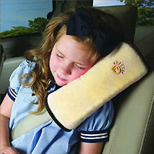 Car Children Safety Seat Belt Shoulder Harness Pad Sleep Pillow Cover Cushion