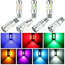 Lot T10 501 W5W Canbus 10 LED 5630SMD Error Free Side Interior Number Light Bulb