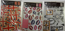 Go Stationery 2X Design Wrapping Paper Gift Wrap Sheets 50 x 70cm + 4 Tags