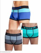 "PAPI Men's Underwear Low Rise Brazilian Trunks ""Waves Color Block"" S,M,L,XL -NEW"