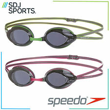 SPEEDO OPAL ADULT RACING SWIMMING GOGGLES WITH ANTI-FOG AND UV PROTECTION