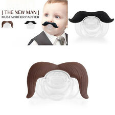 Mustachifier Infant Pacifier The Cowboy The Gentleman Binkie Mustache Beard