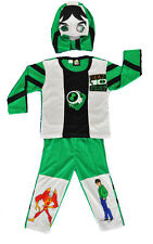 NEW SIZE 2-10 KIDS COSTUMES BOYS BEN 10 SUPERHEROES MASK PARTY HEROES AVENGER