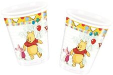 Winnie The Pooh Sweet Treats | Tigger 200ml Plastic Party Drink Cups 1-48pk