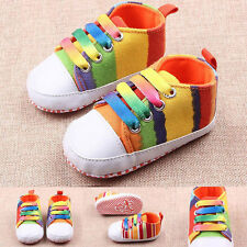 Kids Child Toddler Infant Kid Baby Girl Boy Footwear Running Sports Shoes FU45