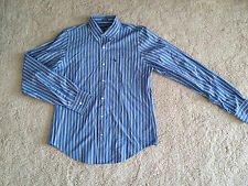 NEW NWT Abercrombie and Fitch Mens Extra Large Stripe Button Down Shirt