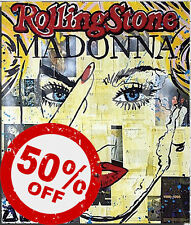 Madonna Rolling Stone [70x90] ALEC Monopoly giclee canvas Modern urban wall art