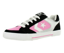 Converse Optium Ox Womens Shoe Black/white/pink Sz