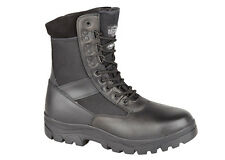 MENS POLICE BOOTS SECURITY LEATHER ASSULT WALKING HIKING ARMY COMBAT FORCES