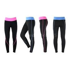 ARSUXEO Women's Leggings Fitness Yoga Tights Stretch Tights Wide Waistband U6U6
