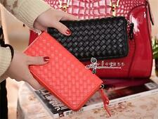 Fashion Women Lady Long Wallet Clutch Card Coin Bags Leather Zip Around Purse