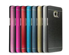 Brushed Metal Thin Case Cover for Samsung Galaxy S4 S5 S6 edge plus Note 3 4 5