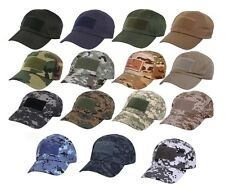 Military Digital Camo Tactical Operator Front Flag Patch Velcro Ball Cap Hat