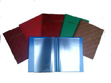GOOD QUALITY RECORD OF ACHIEVEMENT FOLDER CHOOSE FROM VARIOUS COLOURS
