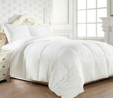 ALL SIZE 50/50 White Duck Down Feather ALL SEASONS Summer/Winter Quilt/Blanket