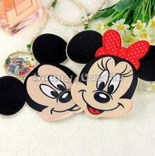 Mickey Minnie Mouse Embroidered Applique Iron On Patch Cloth Sewing Accessory
