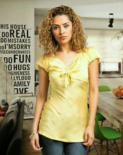 New Fashion Womens Casual Yellow Short Sleeve Blouse
