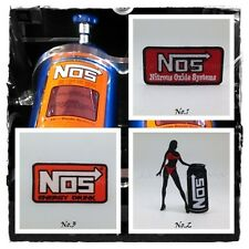 NOS Nitrous Oxide Sew Iron On Patch Embroidered Systems Energy Racing Drink Logo