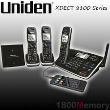 Uniden XDECT 8155 8115 8105 Cordless Long Range DECT Phone Handset Bluetooth USB