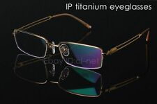Mans IP titanium Optical Eyeglasses Frame Spectacles Eyewear Vintage 979
