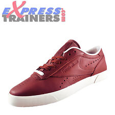 Reebok Classic Exofit Clean Low Lux Retro Leather Mens Trainers Terra Red