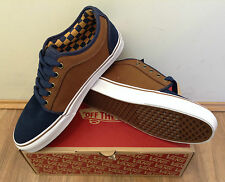 Vans Chukka Low - Mens Casual Shoe Navy/Tobacco