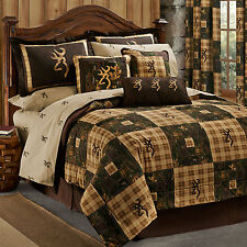 Browning Country Bed in a Bag Comforter Set With Sheets, Bed Skirt, and Shams