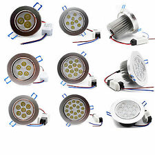 Dimmable 6W 9W 12W 15W 18W LED Ceiling Recessed Down Adjustable Spot Light Lamp