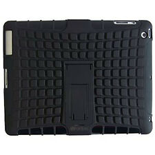 Hybrid Heavy Duty Hard+Soft Impact Armor Rugged Kickstand Case For Apple IPAD