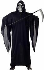 GRIM REAPER ADULT MENS SCARY FANCY DRESS HALLOWEEN COSTUME