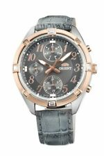 ORIENT Fashionable Quartz Chronograph Ladies Watch UY04004T UY04005A UY04006W
