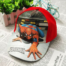 New Kids Boys Toddlers Spiderman Sports Baseball Cap Hat Costume Accessory