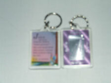 PERSONALISED KEYRING GIRLS NAMES BEGINNING WITH (H) INCLUDES THE MEANING OF NAME