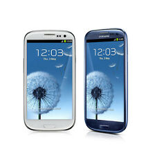 4.8-Inch Samsung Galaxy S3 GT-I9300 Android Smartphone - 16GB 8.0MP - White/Blue