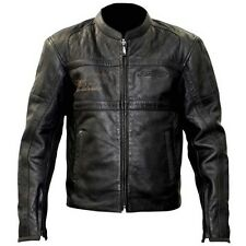 RST IOM Classic TT Retro Cafe Racer Vintage Motorcycle Motorbike Leather Jacket