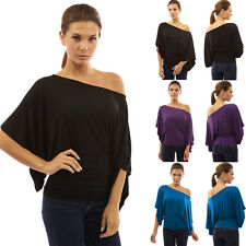 Womens Fashion Tops One Shoulder Summer Casual Evening Party Top Blouse Shirt