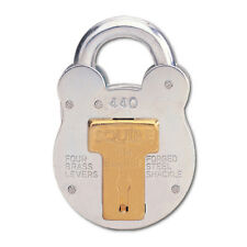 Squire 440 Old English 4 Lever Padlock 51mm Keyed Alike PEF and Differ 2 Keys