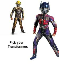 Transformers Bumble Bee or Optimus Prime 3-D Muscles Torso & Arm Child Costume