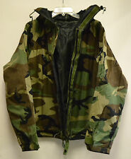 NWOT Military Chemical Protective NFR Woodland Camouflage Jacket M-R Prepper