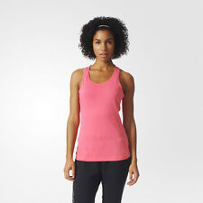 Adidas Aeroknit Womens Pink Climacool Running Sports Scoop Neck Vest Tank Top